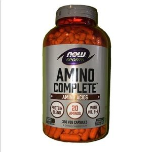 (2-pack) Amino acids by brand NOW for workout
